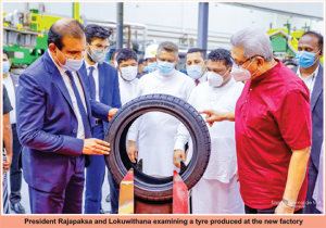 South Asia's largest tyre manufacturing plant opened